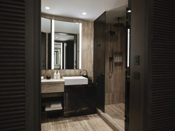 deluxe king bathroom
