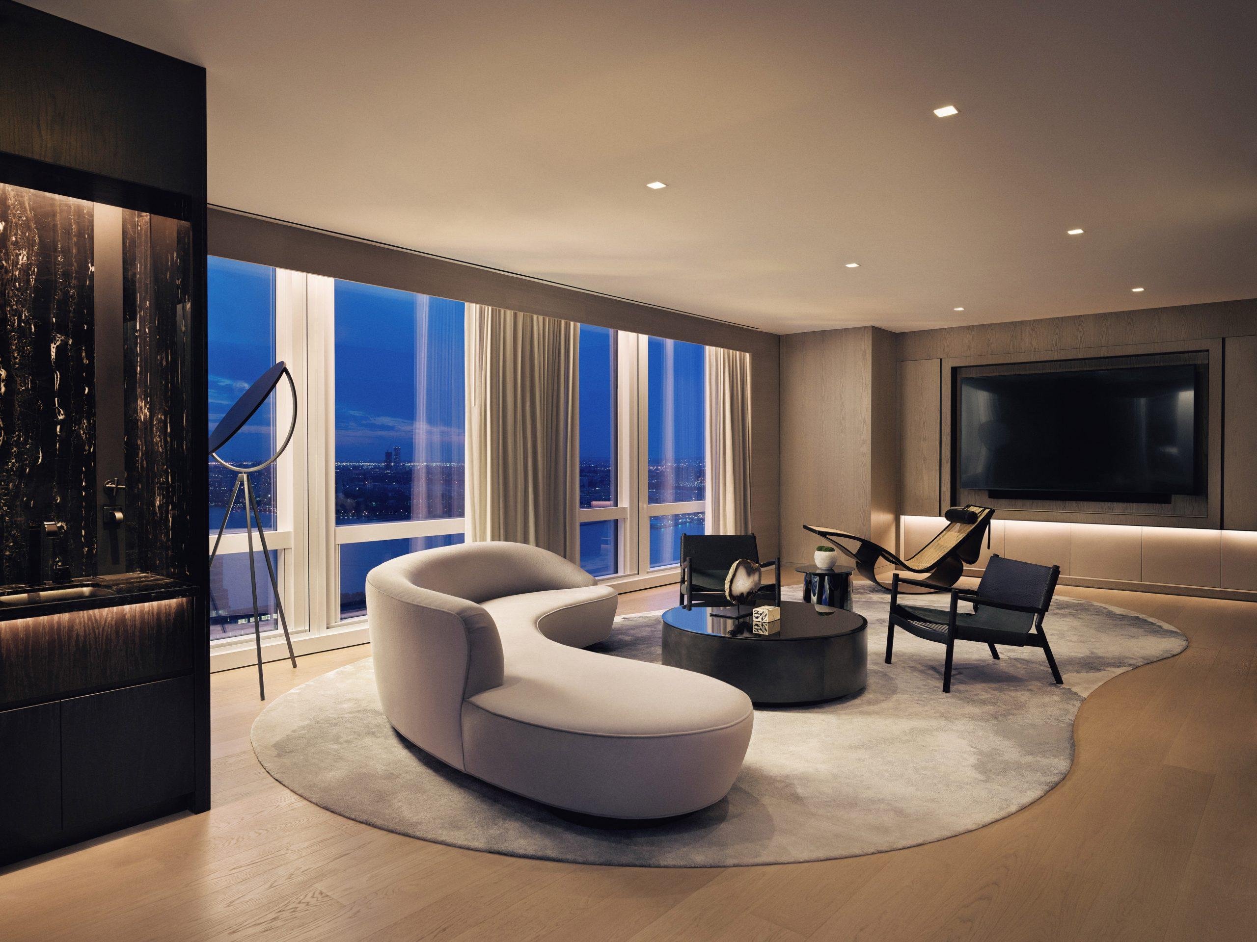 equinox suite living room