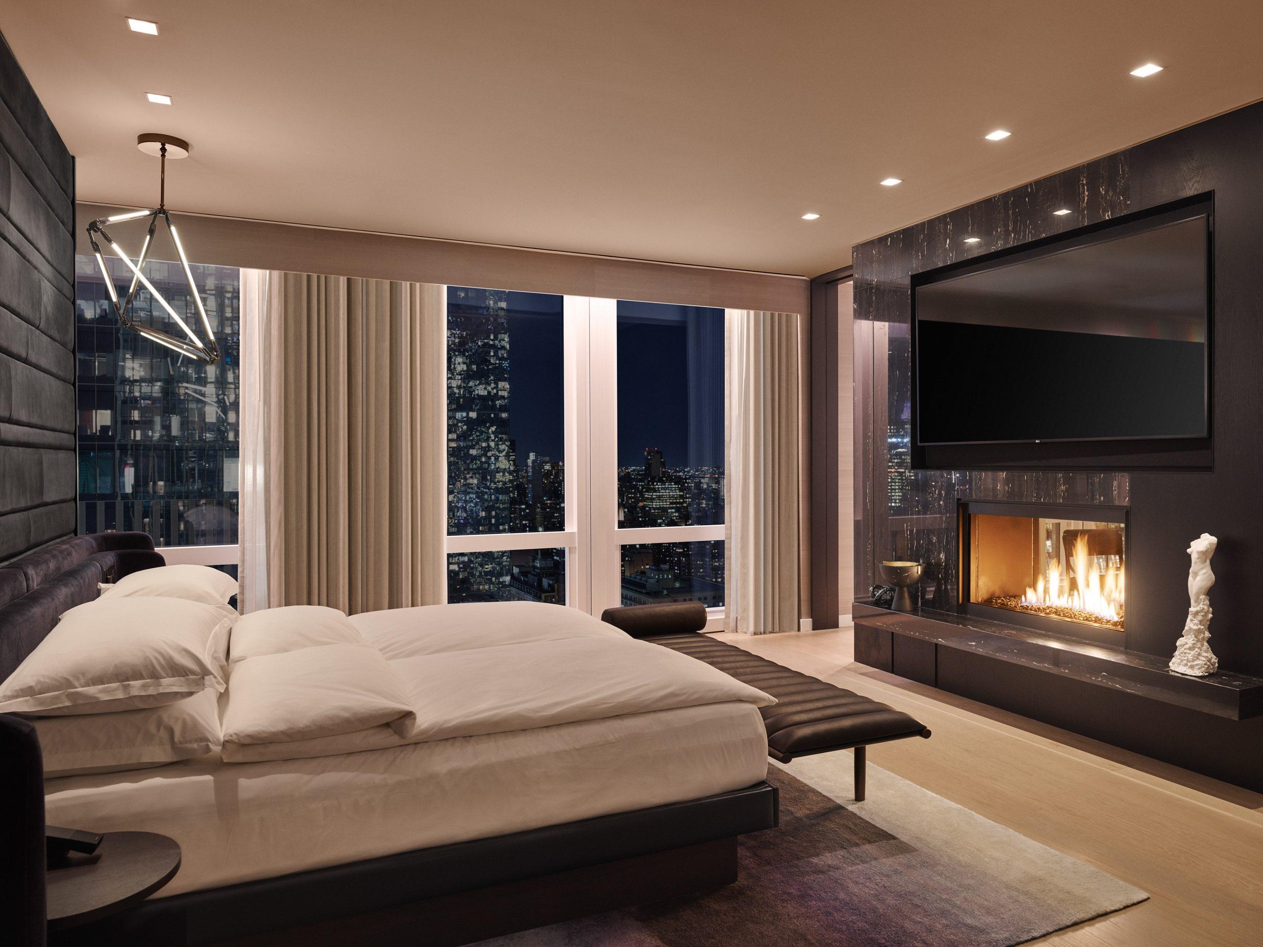 equinox suite bedroom