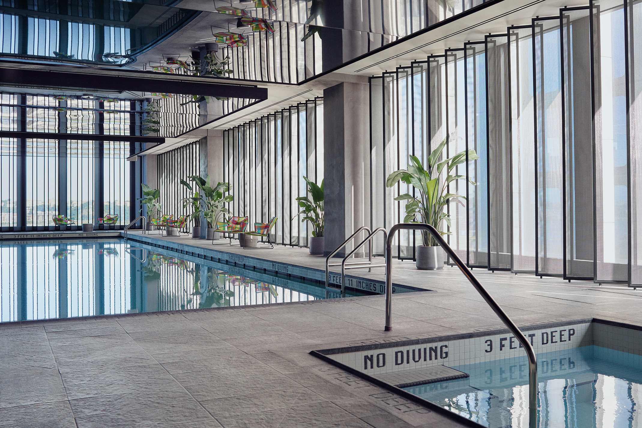 <equinox indoor pool