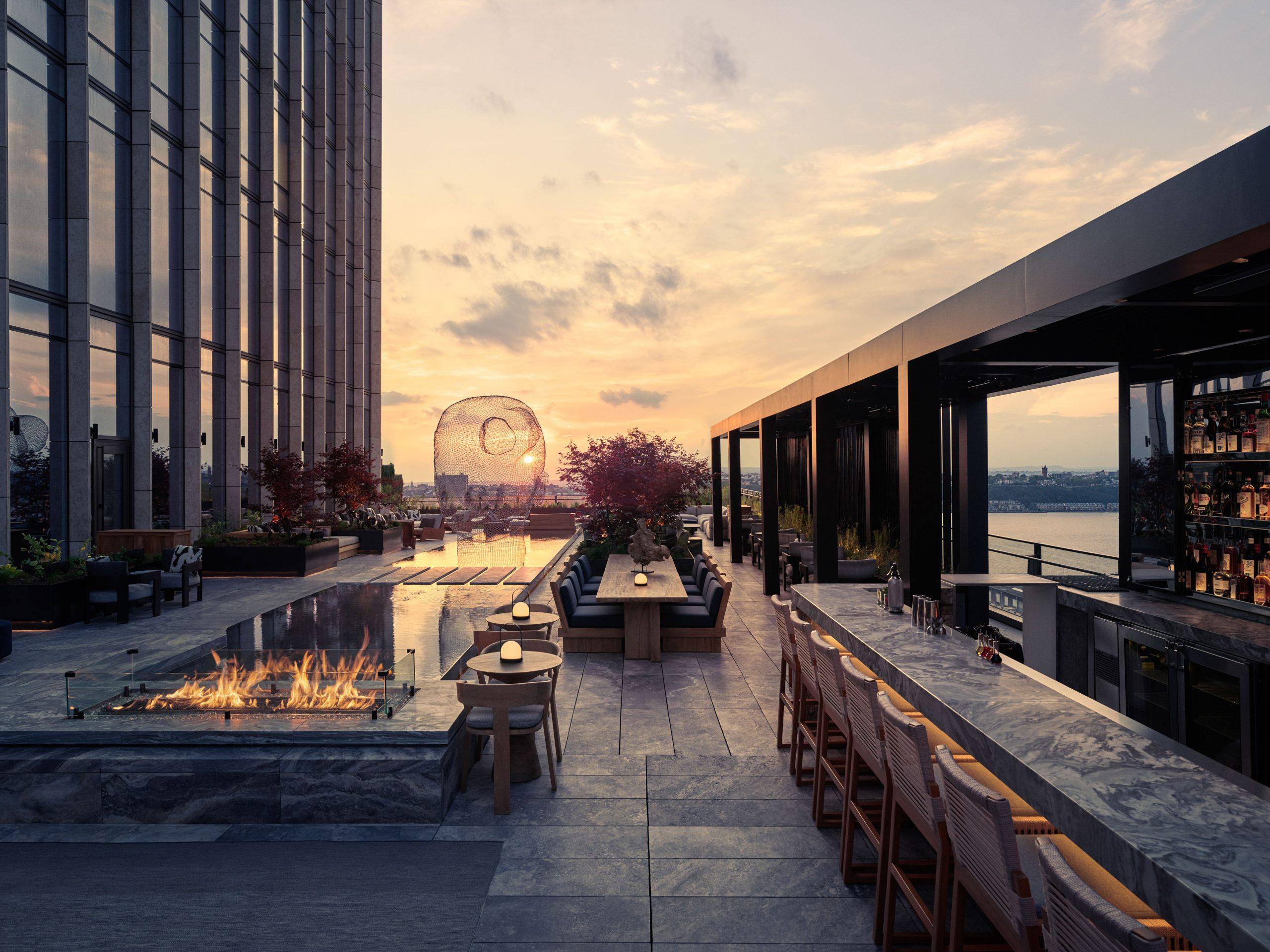 <equinox outdoor rooftop terrace