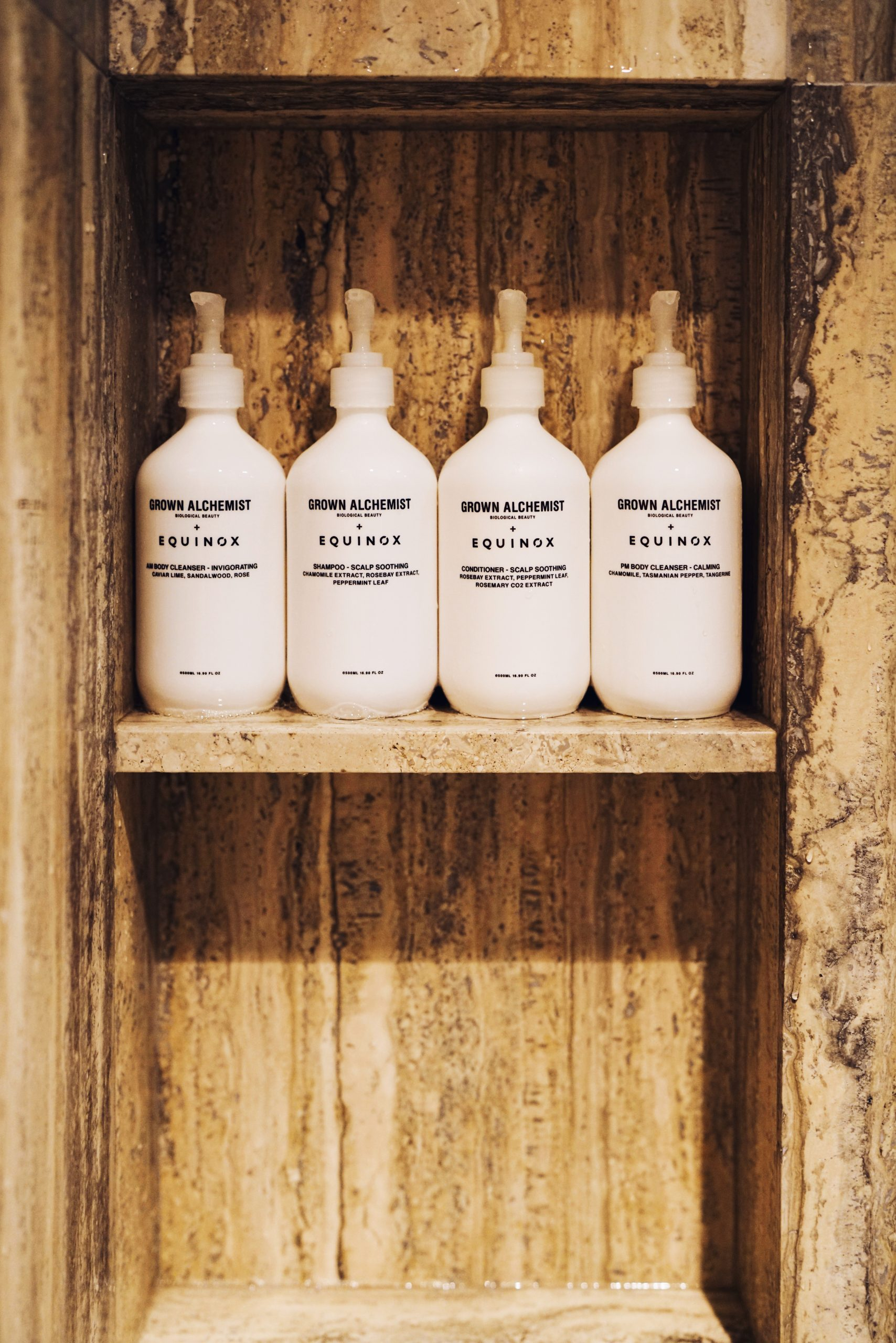 grown alchemist bathroom amenities