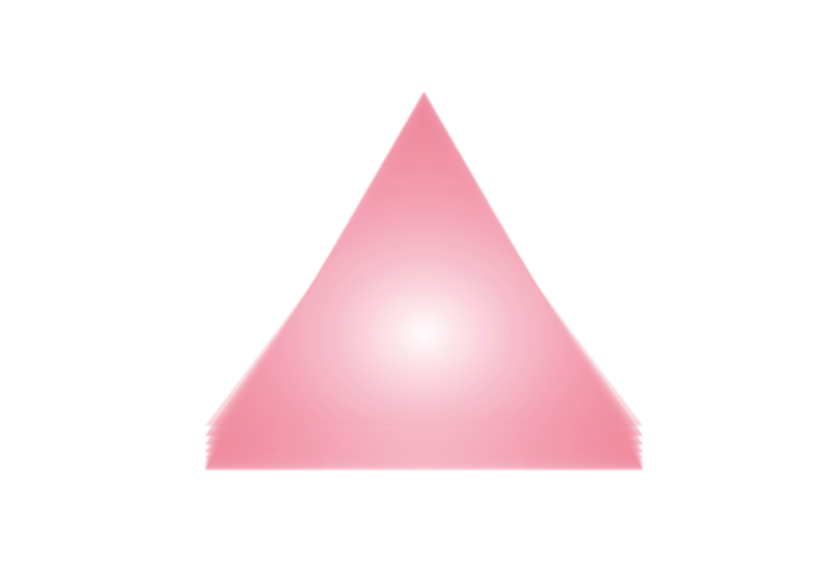 pink triangle graphic