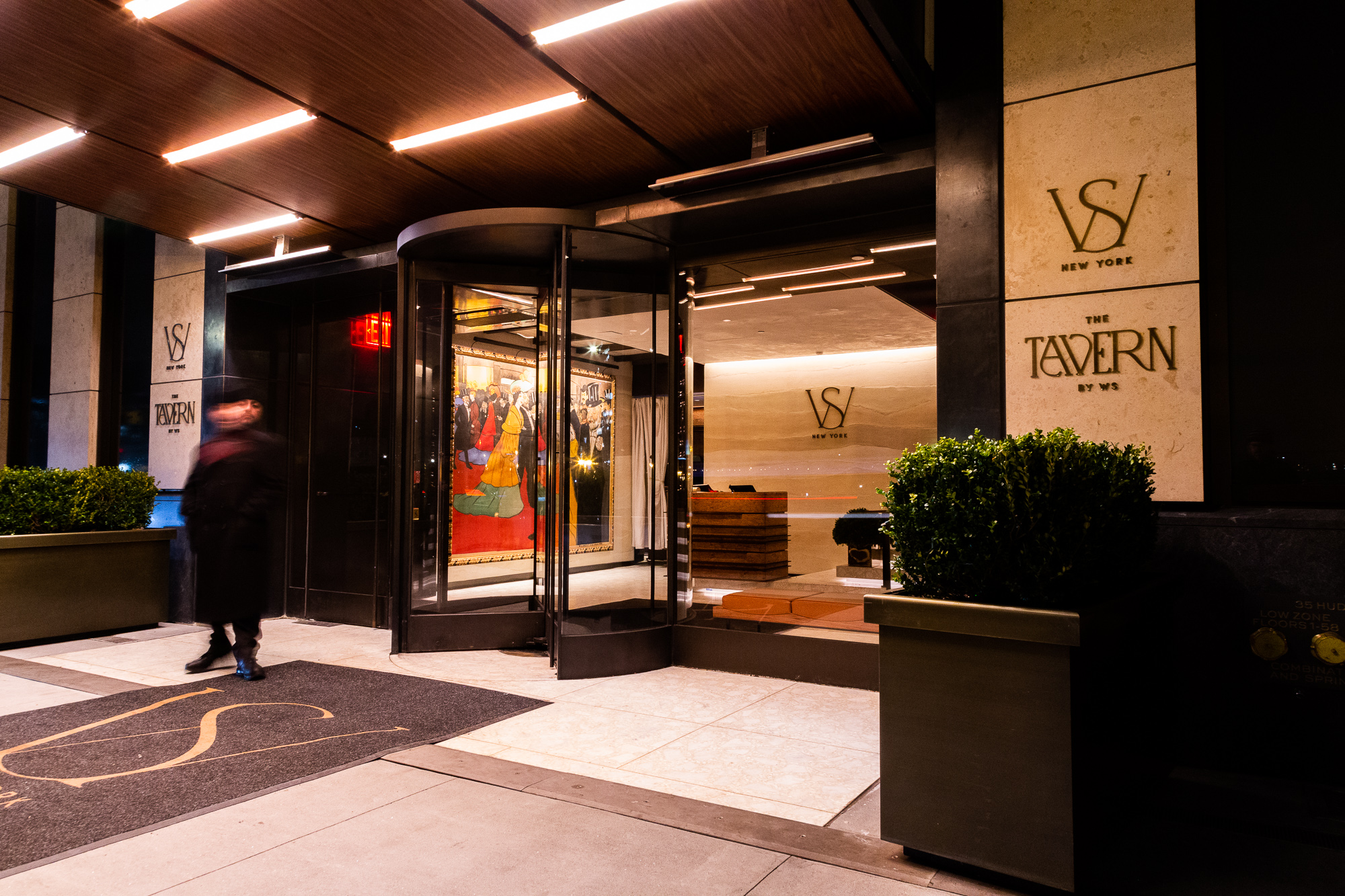 <exterior image of entrance to the club and tavern at WS New York