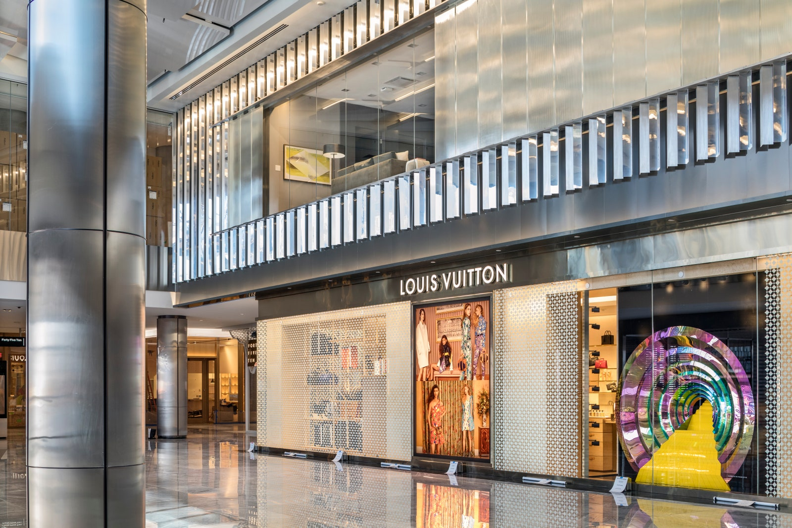 <the shops at hudson yards luxury shopping