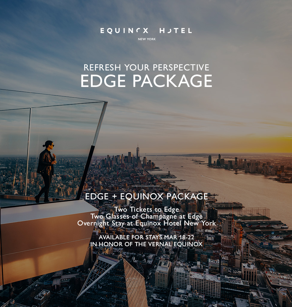 edge backup including edge tickets and champage