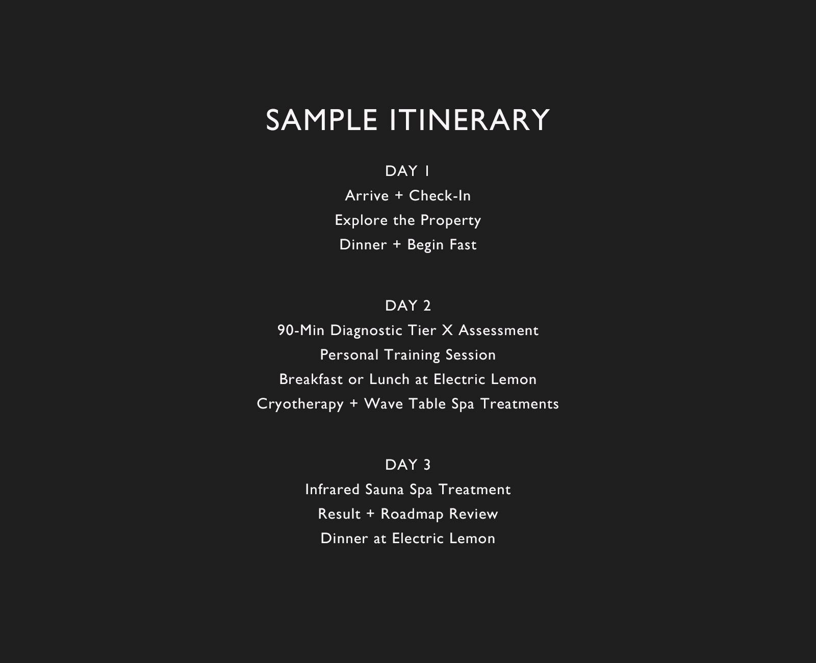 sample itinerary large