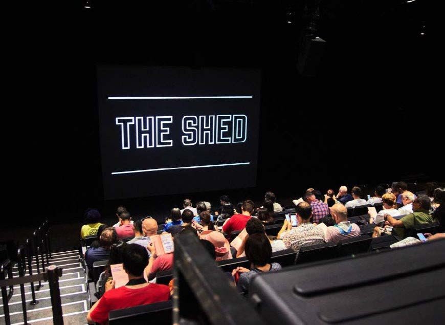 <The Shed Theatre