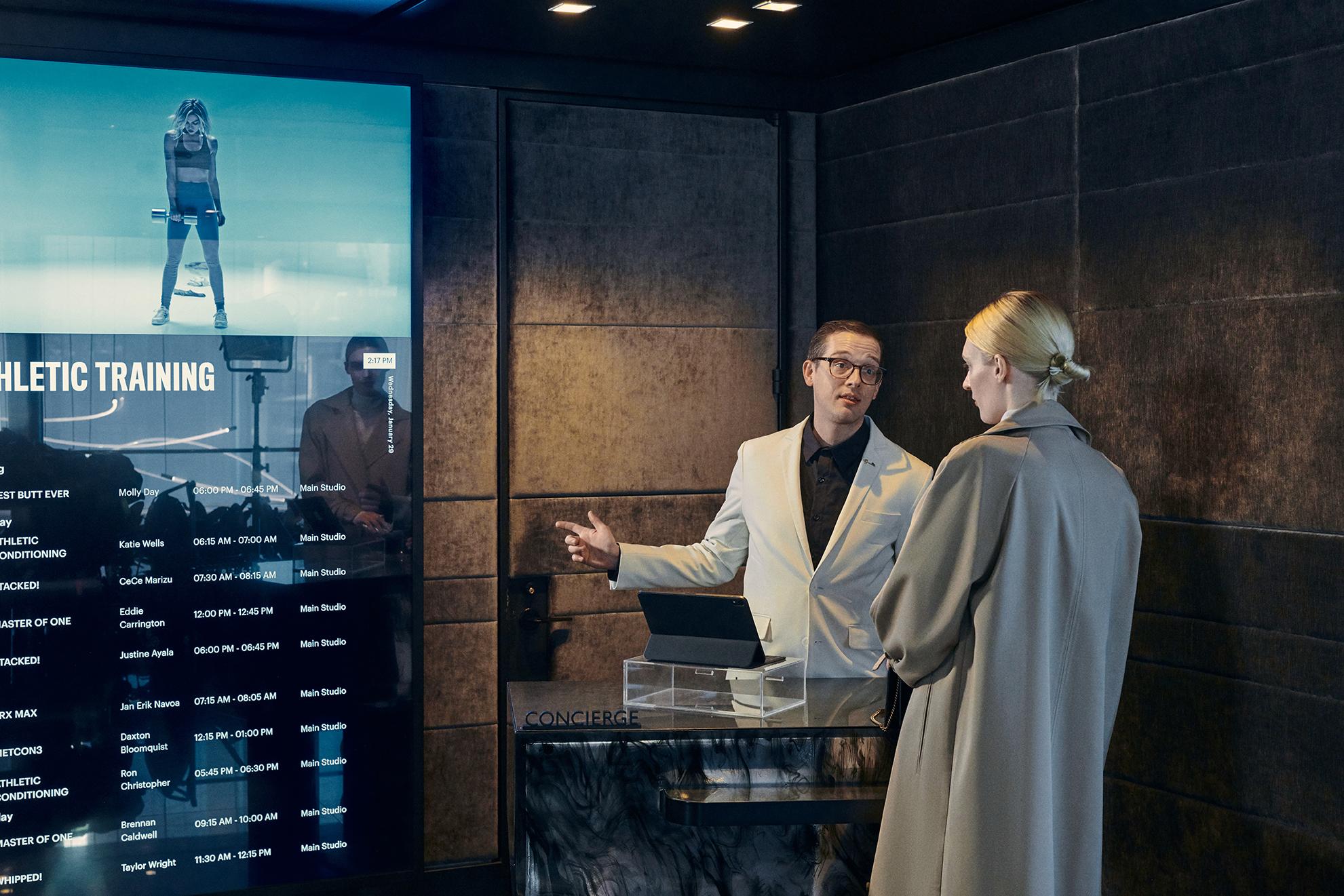 Concierge at Equinox Hotel New York